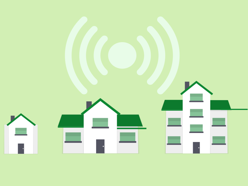 What are smart houses?